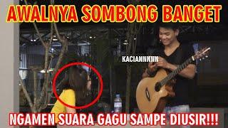 Download lagu AWALNYA SOMBONG BANGET, NGAMEN SUARA GAGU SAMPE DIUSIR!!!
