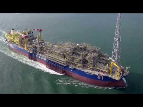 Yinson's FPSO John Agyekum Kufuor Sail Away to Ghana