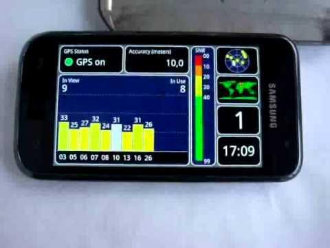 Samsung i9000 GPS vs Metal Plate