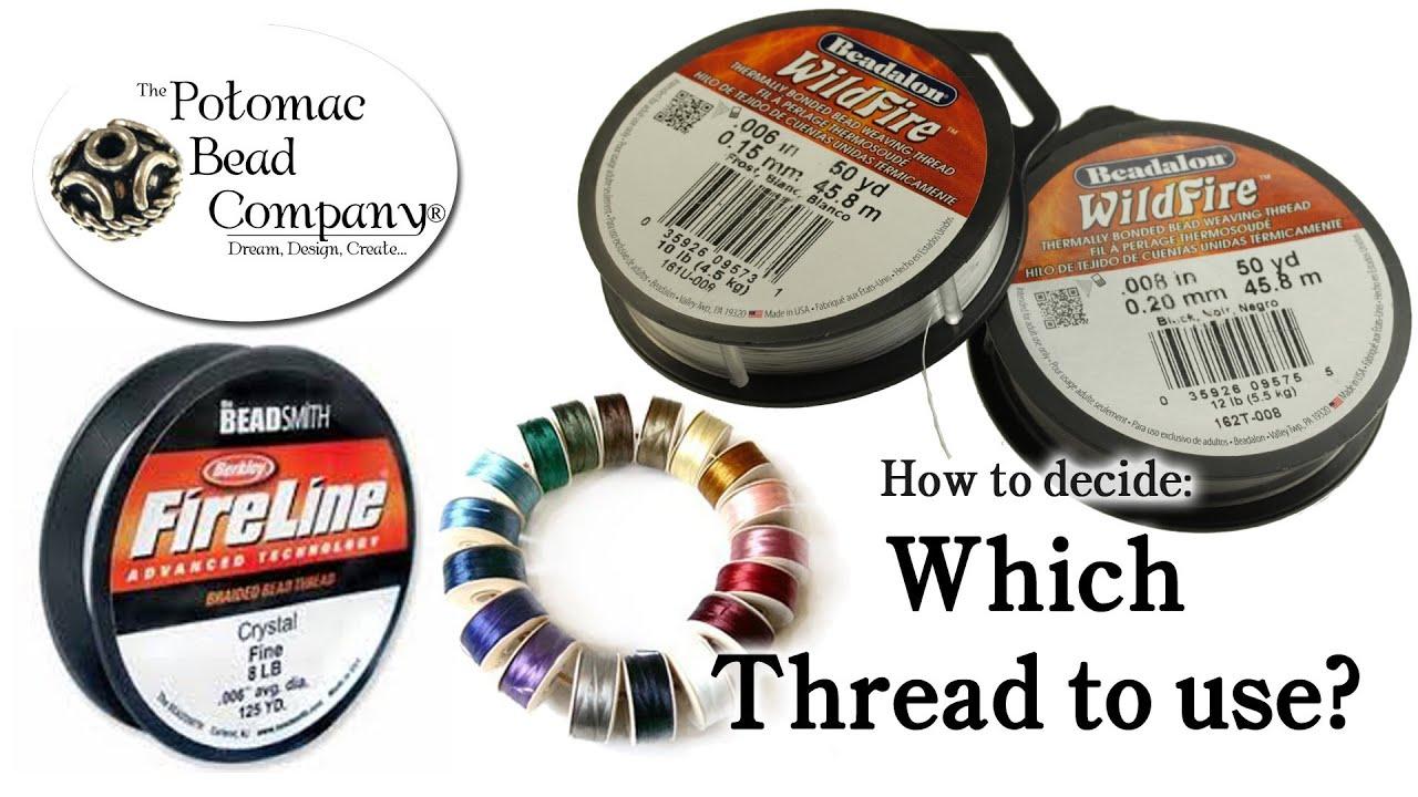 Pearl Threaad LILAC 1 pkg SIZE 1 Griffin Nylon Polyamid Beading Thread with Needle