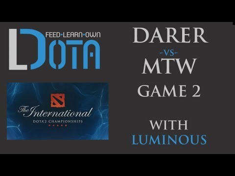 Darer vs mTw - Game 2 (TI2 Group Stages)