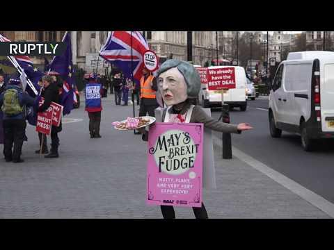 В Лондоне активистка