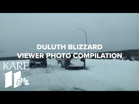 Viewer Photo Compilation Of Duluth Blizzard