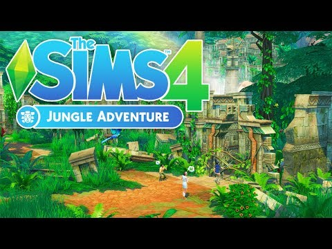 JUNGLE ADVENTURE TRAILER🌴 // REACTION + THOUGHTS | THE SIMS 4 |