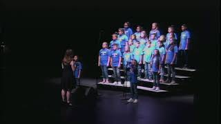 Linda Childers Knapp Choir performs I Have a Voice | August 10, 2018