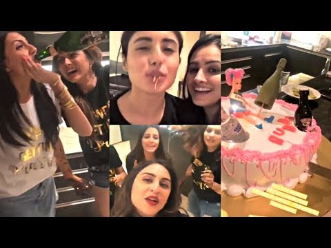 Additi Gupta Bachelorette Party Video - Kritika Kamra, Drashti Dhami, Krystle D'Souza