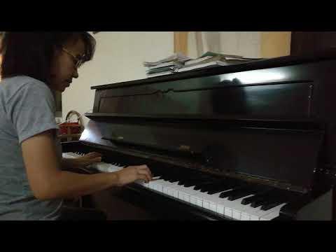 Piano practice, song- goodbye (air supply)