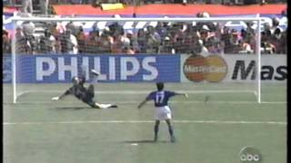 1994 (July 17) Brazil 0-Italy 0 (World Cup)-penalty kick shootout.mpg(If interested in international matches (usually from 80s-90s), you can also check my blog http://soccernostalgia.blogspot.com/ I not only provide ..., 2011-08-28T16:41:01.000Z)