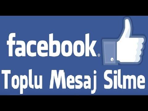 Facebook Toplu Mesaj Silme Nasıl Yapılır - Facebook Message Cleaner