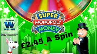 Super MONOPOLY Money slots REAL MONEY £2.45 A Spin