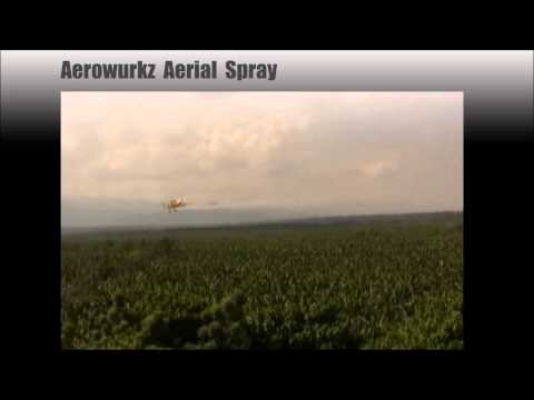 AEROWURKZ AVIATION AGCAT AERIAL SPRAY PERFORMANCE