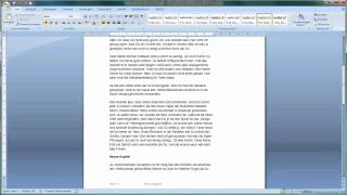 Word 2007 - Seitenwechsel manuell einfügen