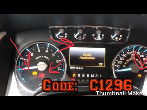 How To Fix Abs Light Issue Code: C1296