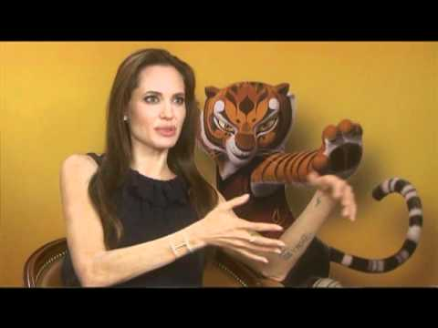 Jack Black, Angelina Jolie and Dustin Hoffman Interview for KUNG FU PANDA 2