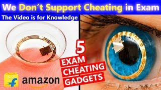 5 Exam Cheating Gadgets for Students✍Video is Only for Knowledge☝We Don't Support Cheating