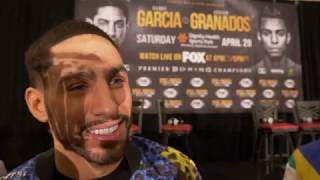 DANNY GARCIA: I TOLD HIM WELCOME TO THE BIG LEAGUES!