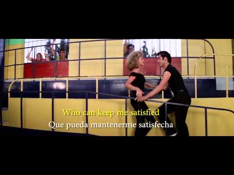 Grease  Youre the one that I want Lyrics Sub Ing Esp