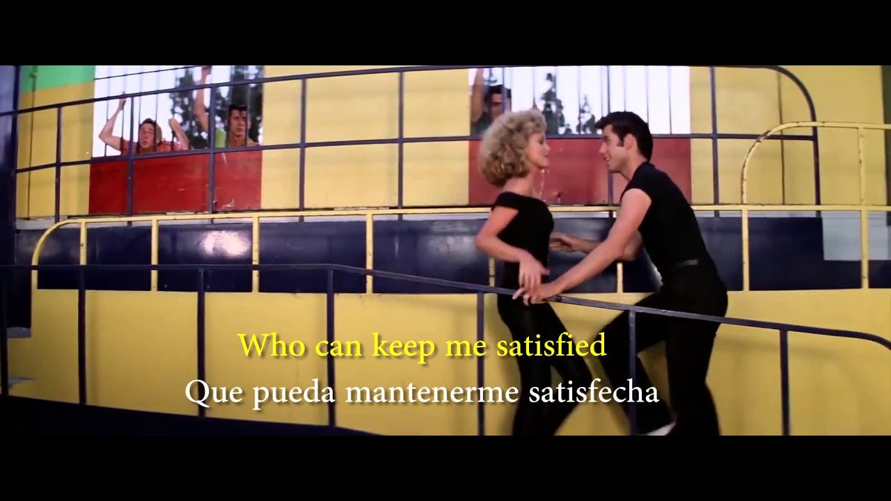Grease - You're the one that I want (Lyrics Sub Ing Esp)