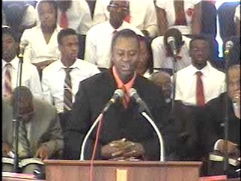 Missionary Church Eastern District Convention Jan 26 2014 with Rev Teddy Jones