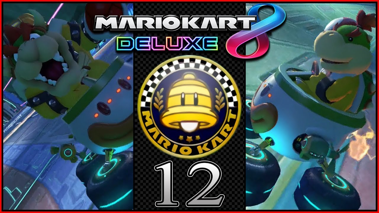 bowser vs bowser jr 200cc mario kart 8 deluxe coop grand prix bell cup part 12 darklightbros. Black Bedroom Furniture Sets. Home Design Ideas