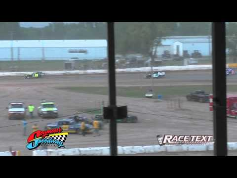 Seymour Speedway - 8-3-2014 - IMCA Modified feature