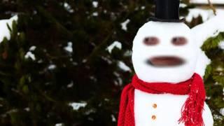 Snow Annoying Orange Snowman