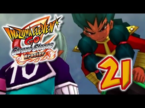 Let's Play Inazuma Eleven Go Chrono Stones Brasier FR #21 ZANARK AVALONIC
