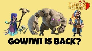 GOWIWI IS BACK? || TH9 GOWIWI ATTACK STRATEGY 2017 || CLASH OF CLANS