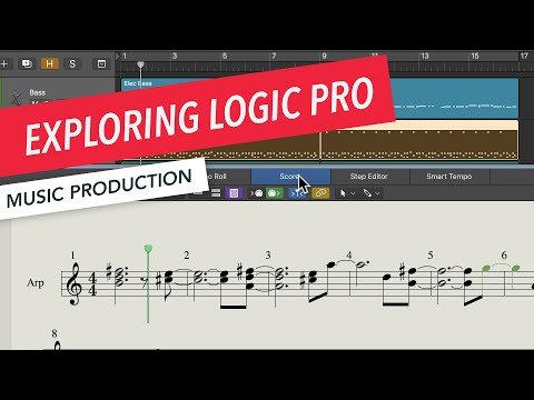 Exploring Logic Pro Workflow, MIDI Regions, Audio Regions, and More | Music Production