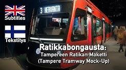 Tampereen Ratikan Maketti (Tampere Tramway Mock-Up)