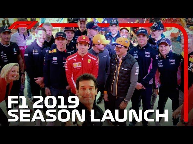 F1's First Ever Season Launch Event | 2019 Australian Grand Prix