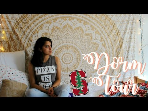 A REAL College Dorm Tour | STANFORD UNIVERSITY