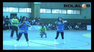 Aksi Freestyle Futsal Kapten Tim Futsal Putri UNJ