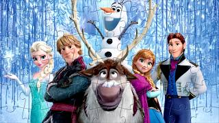 Пазлы Холодное Сердце. Disney Frozen Puzzle Video Games