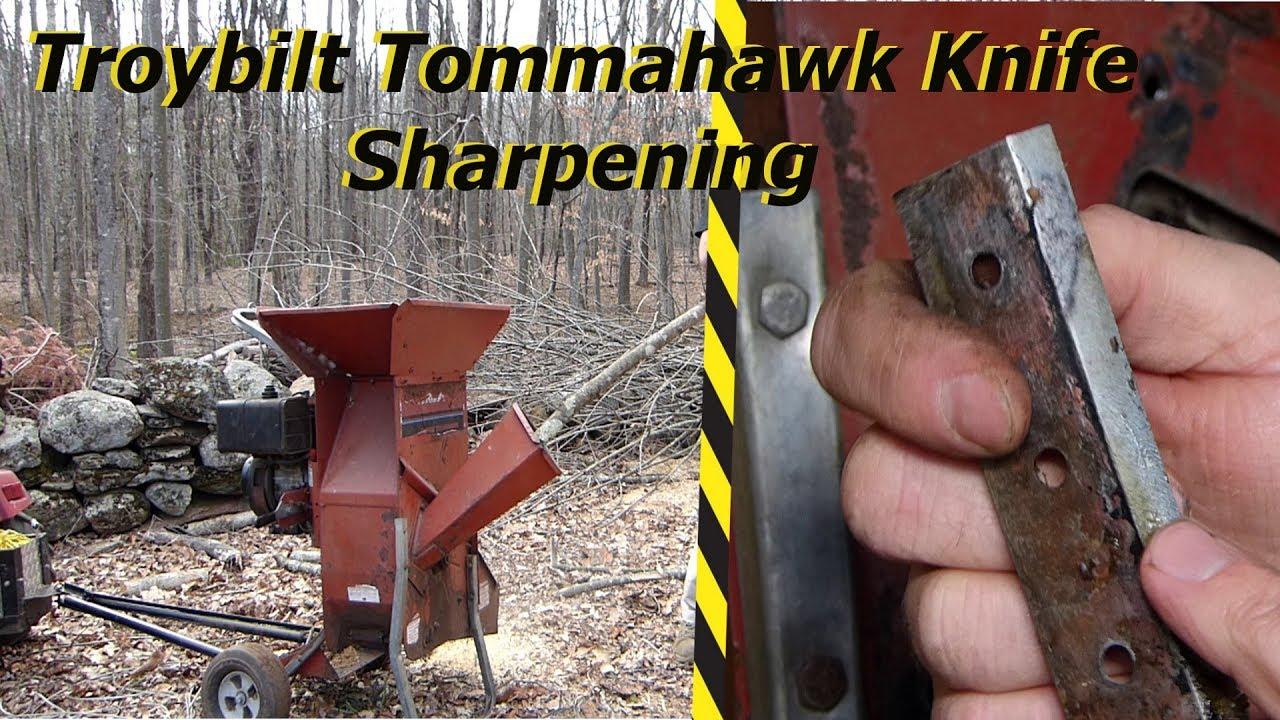 Troy Bilt Tomahawk Knife Sharpening
