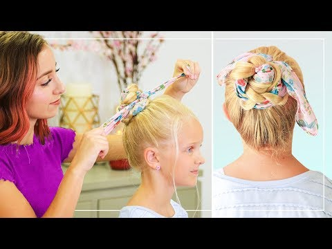 Bailey's Braided Scarf Bun | Back to School