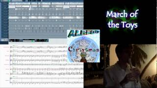 March of the Toys- ALBEDO Christmas (Studio View in HD) Genre: New Age / Holiday / Classical