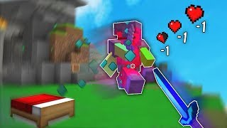Bedwars but every time I die the motion blur gets worse (mod)