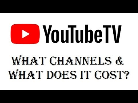 Updated 2018 - Youtube TV - What Channels Will I Get? Is it Worth $40 a Month? - Review