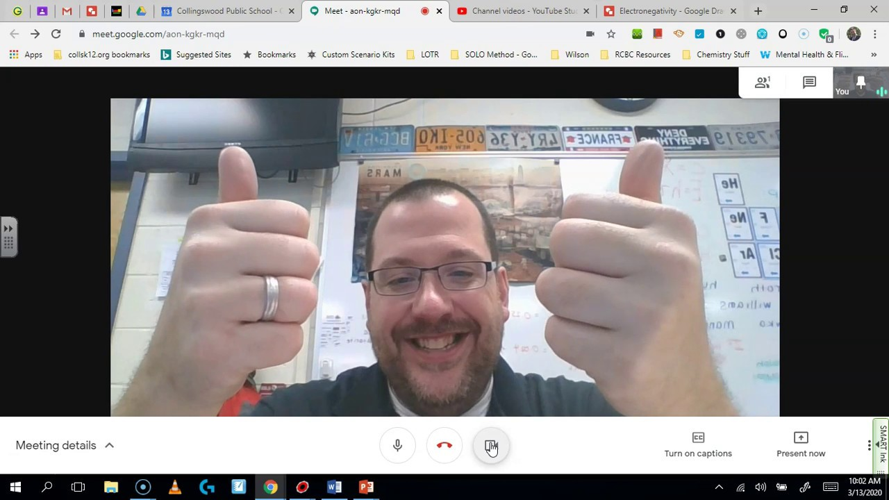 Student Directions: Using Google Meet From Office Hours