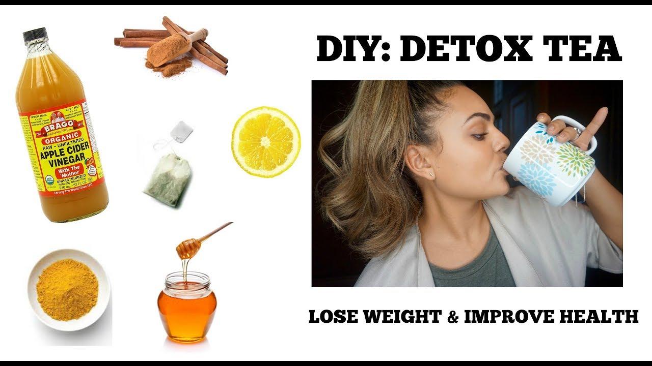 DIY: DETOX TEA | WEIGHT LOSS | Lexi