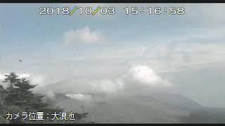 3/10/2018 WITA - Mt Shinmoedake 新燃岳 TimeLapse