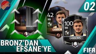 FROM 42 TO 100 RATED! BRONZE TO LEGENDARY! #1 | FIFA MOBILE