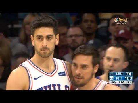 Furkan Korkmaz'ın Minnesota Timberwolves maçı performansı: 3 sayı, 1 ribd, 1 blok
