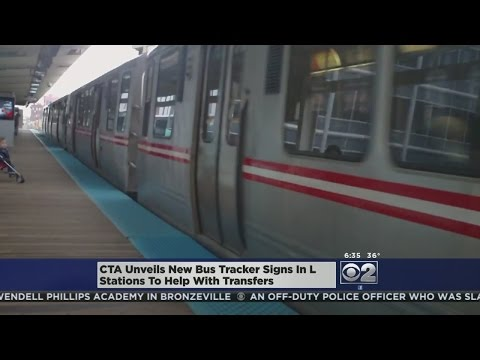 CTA Adds More Bus Tracker Signs To Train Stations