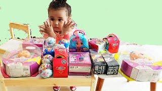 Sürpriz Oyuncaklar Açtık Lol Bebekler Bellies Oyuncak Bebek