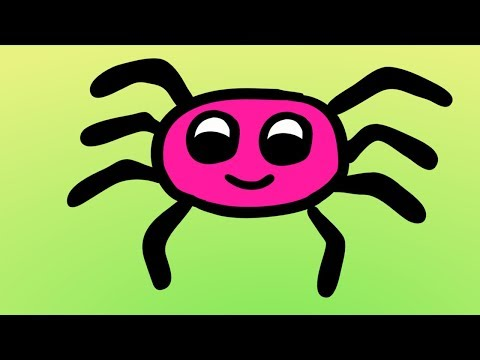 Halloween Kid Songs | Spooky Spider Song | The Itsy Bitsy Spider with Lyrics & Words