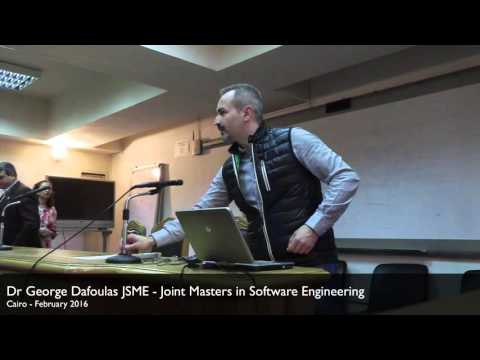 JMSE guest lectures in Cairo - George Dafoulas