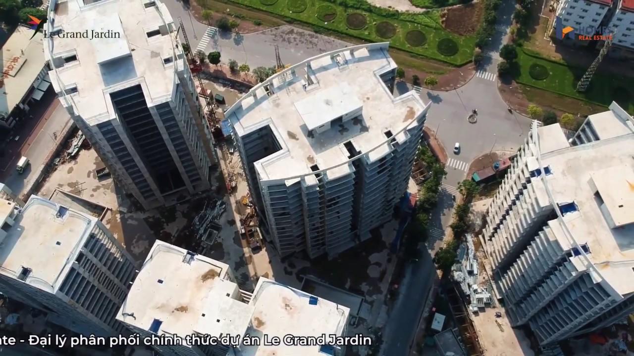 Video Fly cam giới thiệu dự án Le Grand Jardin Sài Đồng