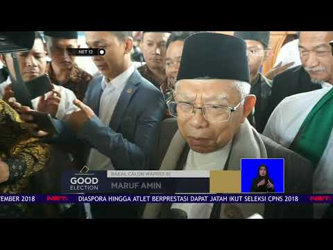 ARBI Resmi Dukung KH Ma'ruf Amin Dalam Pilpres 2019-NET12